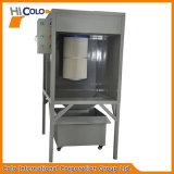 Un sistema industrial de la pintura del polvo del filtro