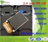 2.0 панель дюйма 176*220 MCU 16bit 36pin TFT LCD, экран касания варианта