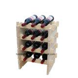 Prateleiras de indicador Stackable do carrinho do armazenamento da cremalheira modular Stackable do vinho