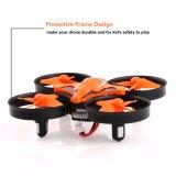 小型LEDライトとのUFO Quadcopterの無人機2.4G 4CH 6の軸線の頭のないモードのリモート・コントロールQuadcopter RTFのモード2の余分電池RC Quadcopter
