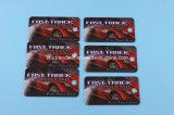 Barcode를 가진 1개의 카드에 있는 풀 컬러 플라스틱 3 중요한 바지의 시계 주머니