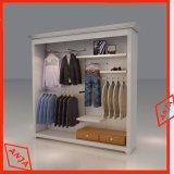 Carrinho de varejo da roupa do fato dos indicadores da roupa