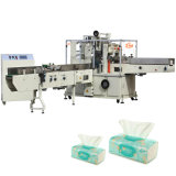 Sacos de nylon do tecido automático que envolvem a máquina de embalagem do papel de tecido
