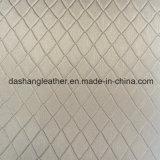Выбитая искусственная кожа для драпирования панели стены
