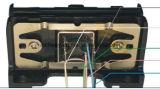 De draagbare MiniLezer van de Kaart Msr009 met het Magnetische Hoofd 2tracks van 3mm