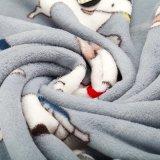 Neue Entwurf 2017 Hundekarikaturentwurf Flanell-Vlies-Zudecke für Kind-Bett