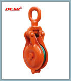 Gancho ou olho Typle Operated Sheaves Pulley Snatch Block