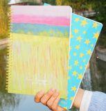 Fábrica directa para el cuaderno espiral de los estudiantes de la escuela del cuaderno del Hardcover