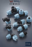 PP Compression Fittings Best Hot Fabricant China Supplier Tee
