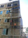 Fournisseur mural en verre en rideau en aluminium pour l'Afrique