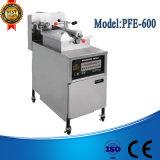 Pfe-600 sartén eléctrica industrial, sartén del buñuelo del gas, sartén de la presión de la tapa de vector