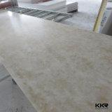 Superfície contínua acrílica modificada Corian da pedra da resina do material de construção