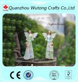 Les statues neuves d'ange d'amour de mère de figurines d'ange de résine d'arrivée autoguident la décoration