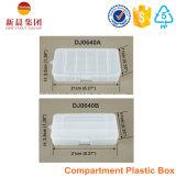 3 de parallelle Plastic Doos van het Compartiment