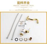 2016 Новый дизайн керамический одной ручкой Zf-608-1 Античный бассейна кран