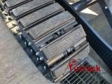 Piezas de maquinaria de construcción - Almohadilla de goma
