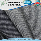 Jeans del cotone della saia dell'indaco che lavorano a maglia il tessuto del denim con l'alta qualità