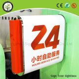 La publicidad gráfica lateral doble impermeable de acrílico al aire libre Caja de Luz