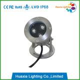 9W IP68 304 스테인리스 LED 수중 빛