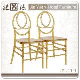 Золото коммерчески качества штабелируя стул Феникс Chiavari (JY-J11-01)