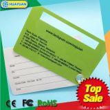 Cartão de etiqueta de chave de bagagem de PVC de PVC personalizado