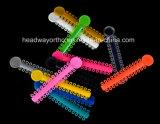 Il legame elastico eccellente dentale della legatura con Ce, l'iso, FDA certifica