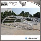 Etapa curvada de aluminio del concierto del diseño del braguero de la azotea