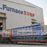 Fornace di pezzo fucinato del focolare del carrello ferroviario con la struttura di Ultra-Energia