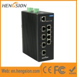 8 Tx e interruptor industrial de la red de Ethernet de 2 SFP Fx