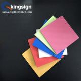 Tarjeta libre de alta densidad de la espuma del PVC de la fuente de Kingsign