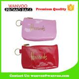 ジッパーおよびロゴの小型PU女性本革旅行構成の装飾的な袋
