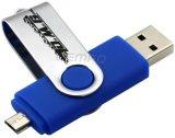USB do telemóvel, movimentação do USB do telemóvel OTG, disco do USB do telefone de pilha