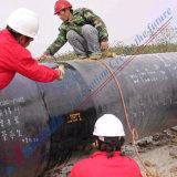 Hitte van de Deklaag van de Pijpleiding van /Gas van de olie de Anticorrosieve - inkrimpbare Band