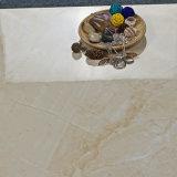 フォーシャンのタイル600X600mmベージュ色大理石のコピーによって艶をかけられる磨かれたタイル