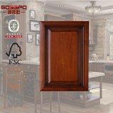 Puerta de cabina barata de cocina de madera sólida (GSP5-012)