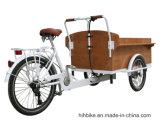 Электрический трицикл торгового автомата киоска кофейни