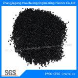 Granelli della fibra di vetro 25% della poliammide PA66 per la plastica grezza