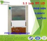 3.2 comitato dell'affissione a cristalli liquidi di pollice 240*320 TFT, RGB 18bit, Ili9341V, FPC 46pin