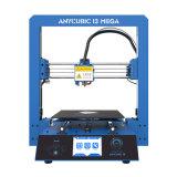 Tarjeta Heated del SD del filamento de 2016 del nuevo de la estructura 3D 3D de la impresora DIY Prusa I3 3D kit de aluminio de la impresora Rolls de la base dos