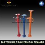平板の調節可能な足場支注の支柱
