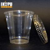 Напечатанная таможней чашка воды устранимого любимчика пластичная