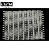 Hairise SGS ISO Flush Grid White Modular Conveyor Belt
