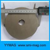 Imanes de anillo diametricalmente magnetizados fuertes de N35 NdFeB para la venta