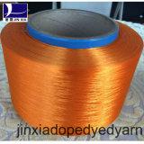 Fils de polyesters teints par dopant du filament 400d/288f de FDY