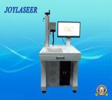 Máquina de grabado de fibra óptica del laser para el plástico
