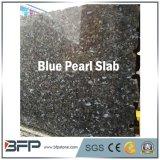 Losas azules Polished al por mayor del granito de la perla para las encimeras de la cocina