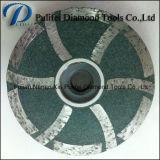 Истирательное колесо диаманта смолаы этапа абразивного диска для конкретного точильщика руки камня гранита
