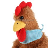 Plüsch-Tier angefülltes Huhn-Spielzeug mit Blume