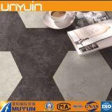 Einfacher zusammengebauter Hexagon Belüftung-Vinylfliese-Bodenbelag