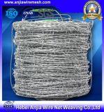 Barbelé enduit bon marché des prix Gavanized/PVC de vente chaude d'approvisionnement d'usine de la Chine